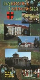 Dąbrowa Tarnowska: plan miasta i gminy